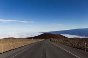 The road to/from Manua Kea