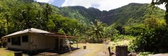 House in Waipio valley, Hawaii