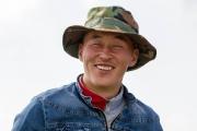 Smiling man, Mongolia