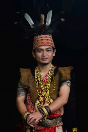 Iban tribe chief