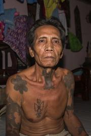 Tattoo Man, Iban Sarawak