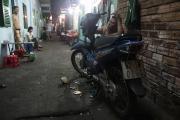 Repairing motorbike
