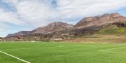 Football field in Qeqertarsuaq