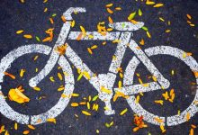 Bicycle sign, bike sign