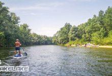 rieka Váh, splav na paddleboardoch, SUP, Wakelake
