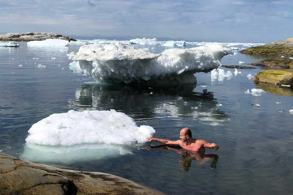 Otuzilec a ľadovec v Grónsku, Iceman in Greenland