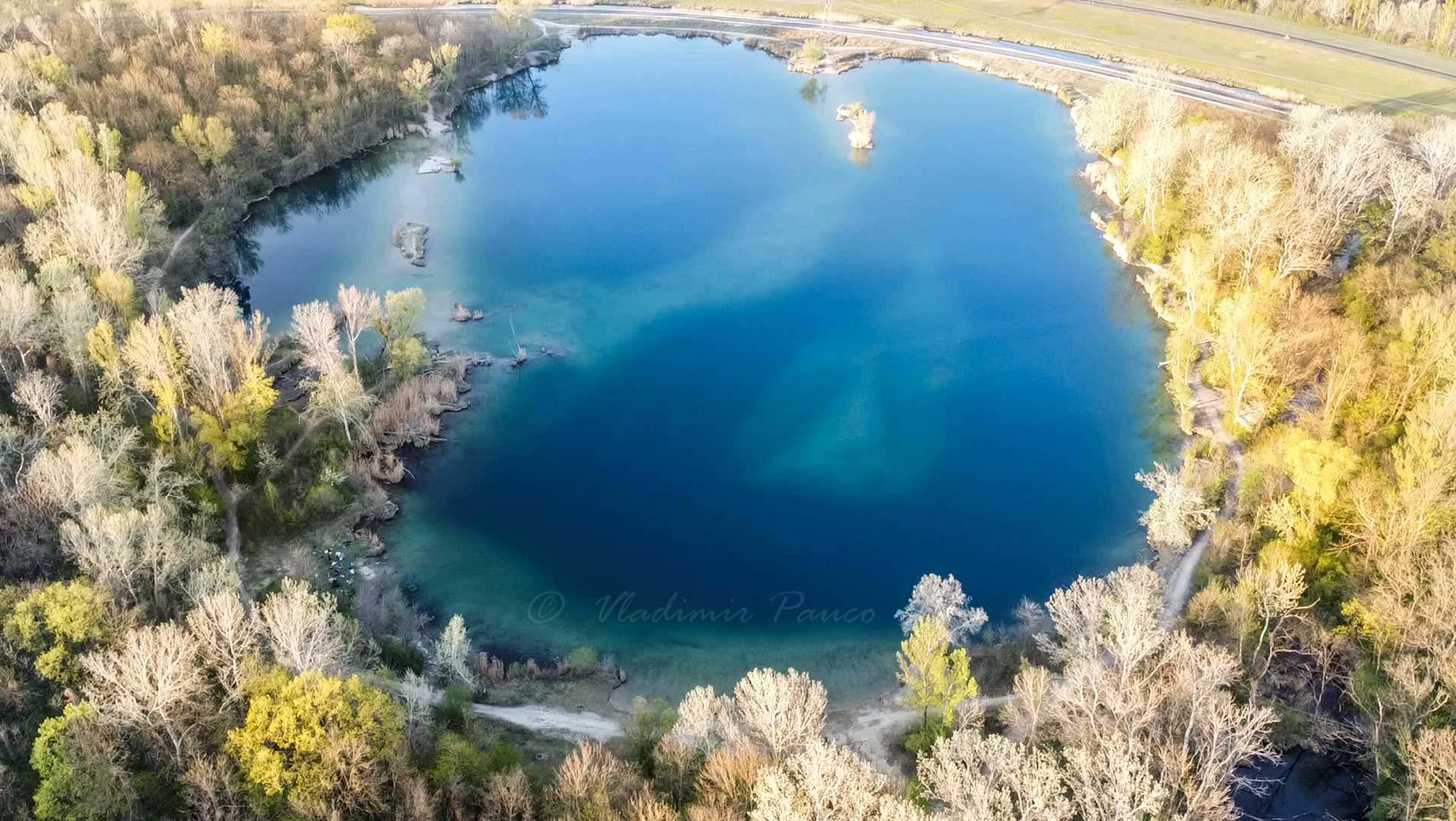 Rusovské jazero, pri Bratislave, Slovensko