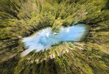 Photo of Bratislavské jazero, ktoré vyzerá ako mapa Slovenska?
