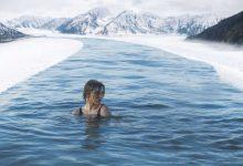 Žena vo vode, otužilkyňa